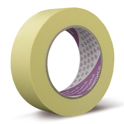 Maskingtape | SP | Licht geel Maskingtape SP beschikbaar in 25mm, 38mm en 50mm