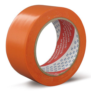 Maskingtape | Soft PVC | Oranje 50mm x 33m