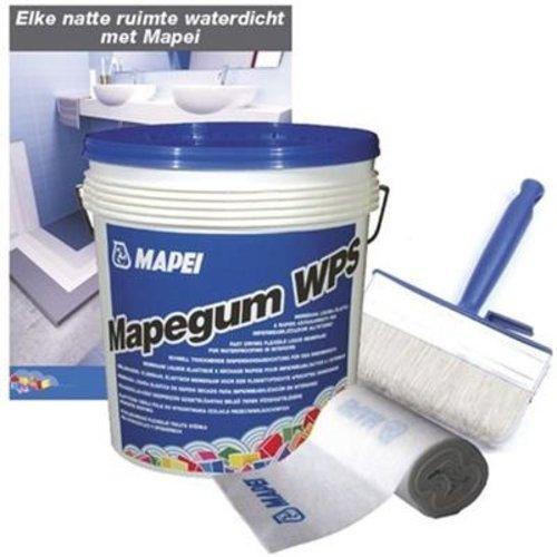Mapei Mapei Mapegum WPS Set waterdicht maken douchegelegenheid