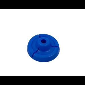 Zuigerplaatje blauw