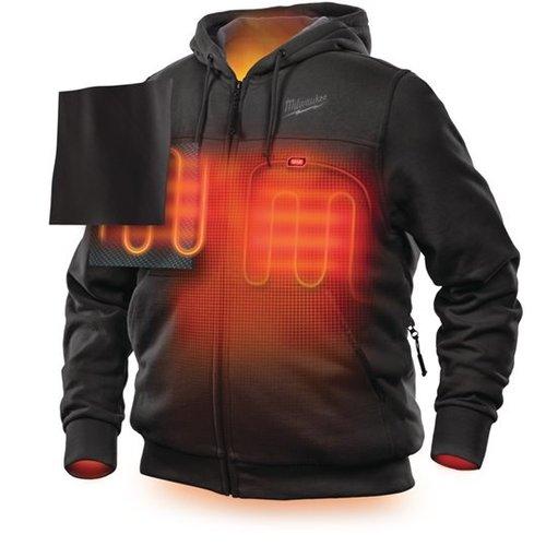 Milwaukee M12 verwarmde hoodies zwart