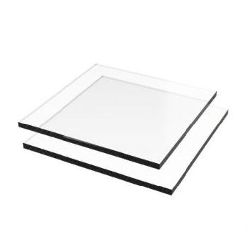 PMMA Testglaasje voor glastest 10x10cm