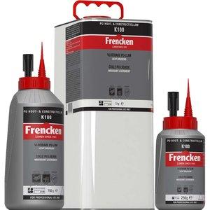 Frenken PU hout- en constructielijm K100 250 gr / 750 gr / 5 kg