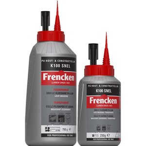 Frencken PU CONSTR.LIJM K100 snel 250 / 750 G