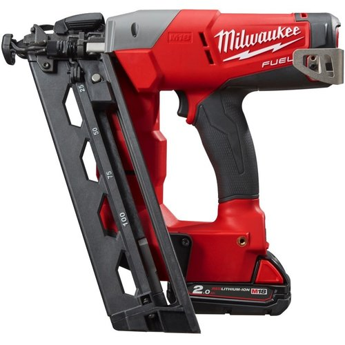 Milwaukee MILWAUKEE M18 CN16GA-202X ACCU BRADTACKER 16GA 18V 2.0AH LI-ION M18 FUEL™ IN HD-BOX - 4933451570
