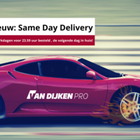 Nieuw: Same Day Delivery