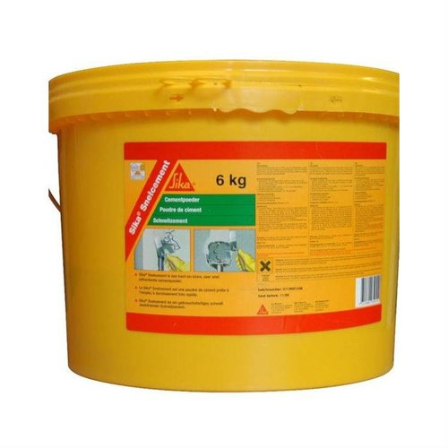 Sika Sika Snelcement 3 / 6 kg emmer