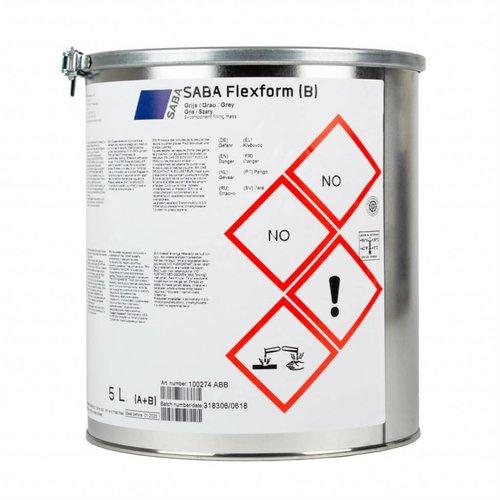 SABA SABA Flexform 1,5 / 5 liter blik