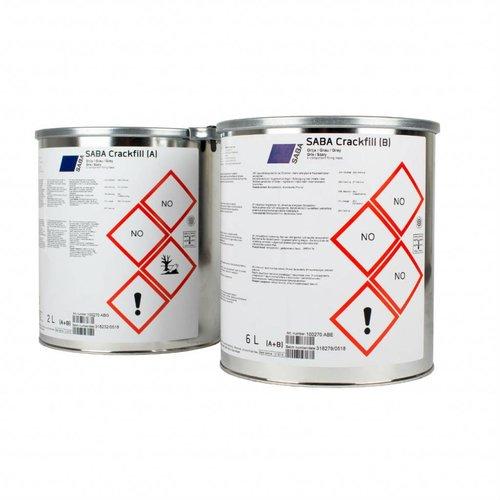 SABA Crackfill blik 2 of 6 liter