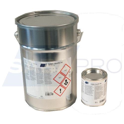 Saba Flexfill blik set 6 liter