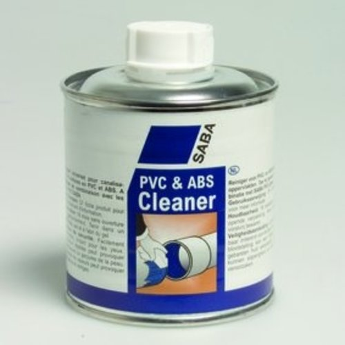 SABA SABA PVC & ABS Cleaner blik 250 / 650 ml