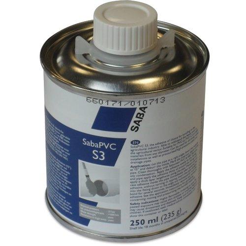 SABA SABA PVC S3  250ml / 1 liter blik met kwast