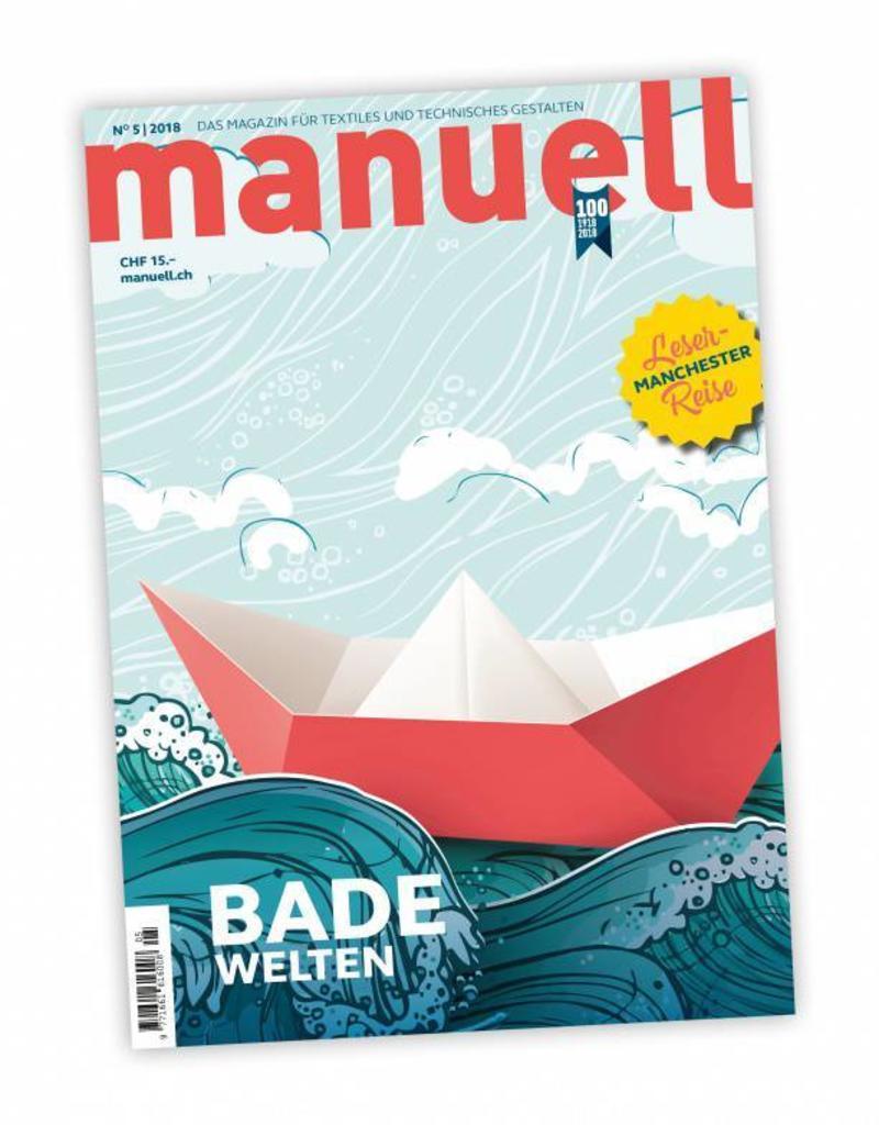 Magazin manuell Ausgabe Mai 2018