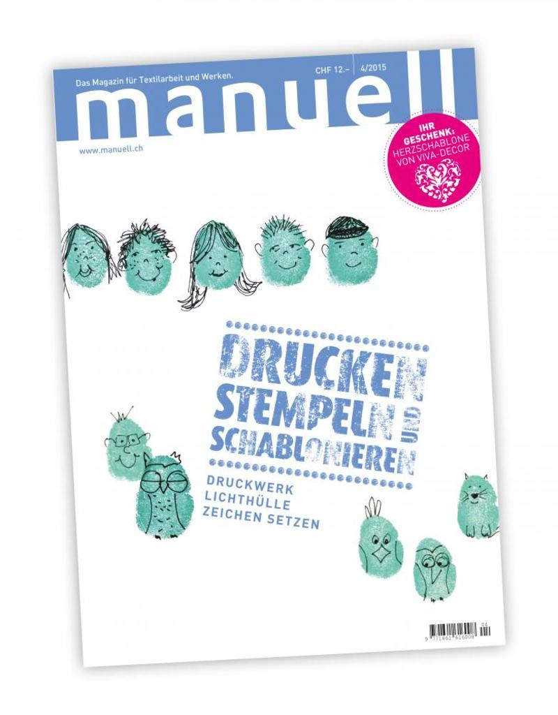 Magazin manuell Ausgabe April 2015