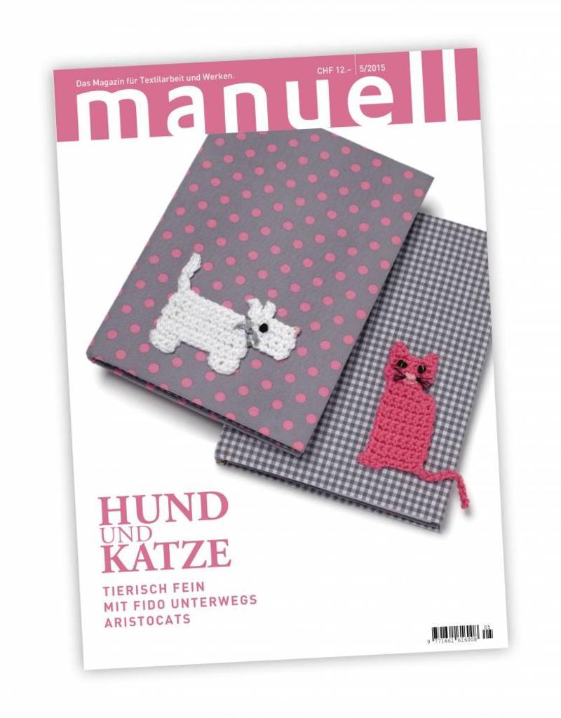 Magazin manuell Ausgabe Mai  2015 / Digitales Medium