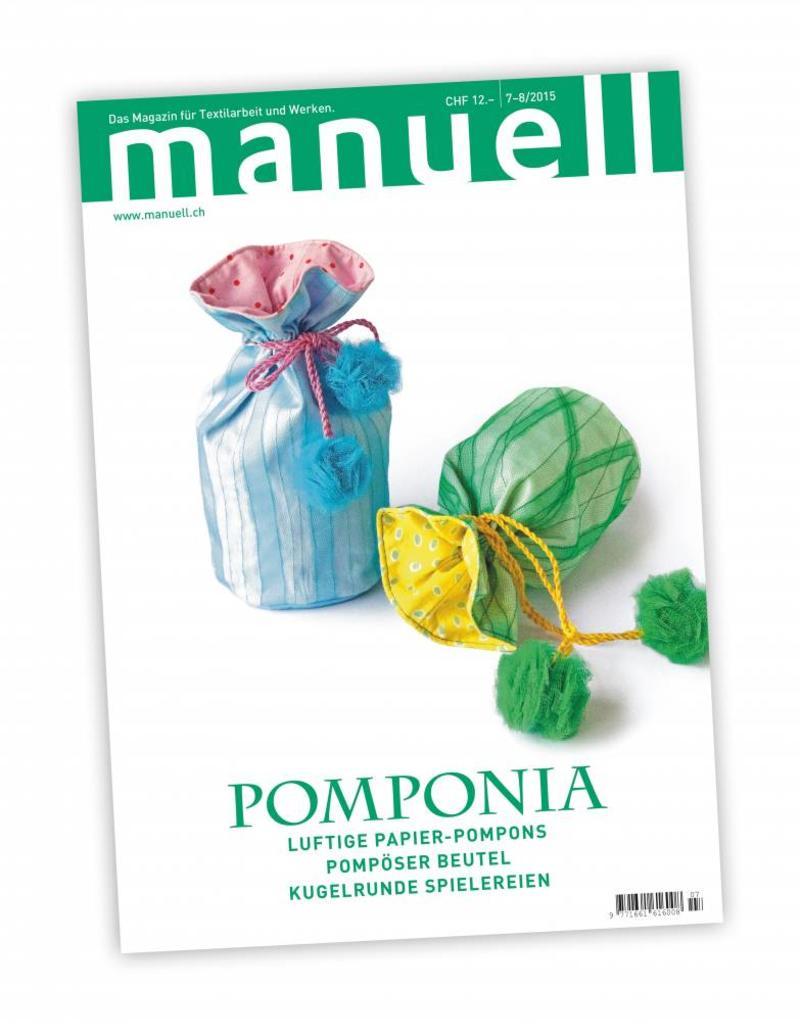 Magazin manuell Ausgabe Juli-August 2015
