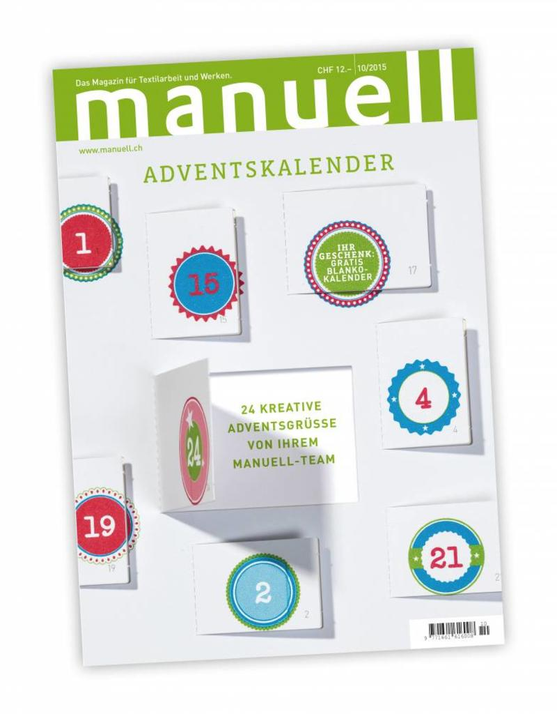 Magazin manuell Ausgabe Oktober 2015 / Digitales Medium