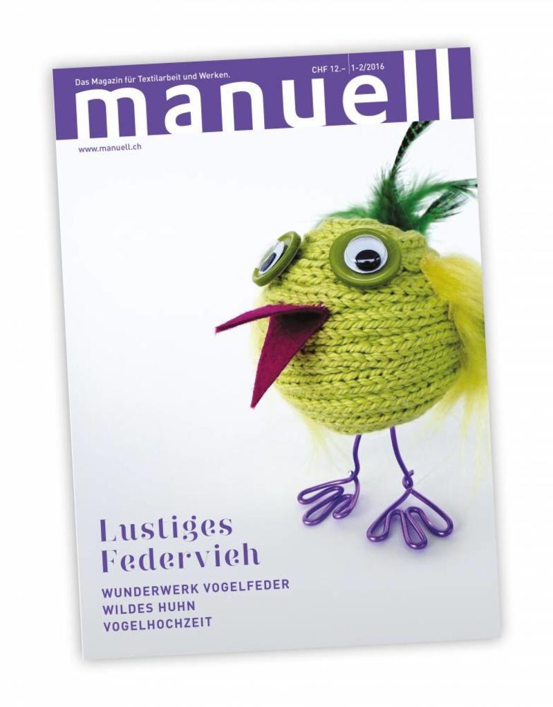 Magazin manuell Ausgabe Januar-Februar 2016 / Digitales Medium