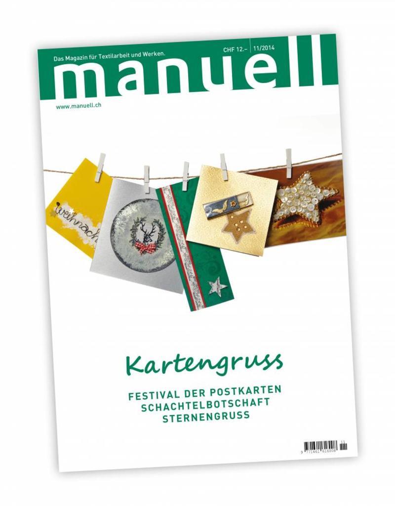 Magazin manuell Ausgabe November 2014
