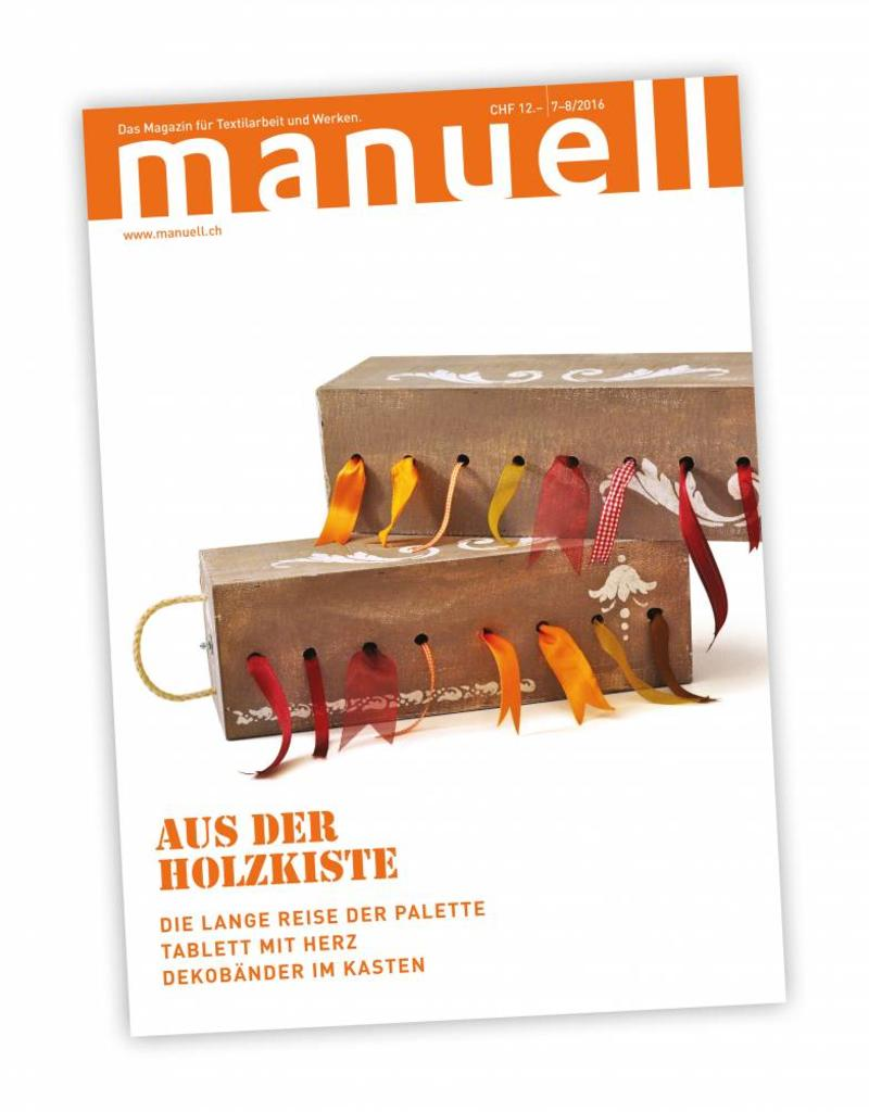 Magazin manuell Ausgabe Juli-August 2016