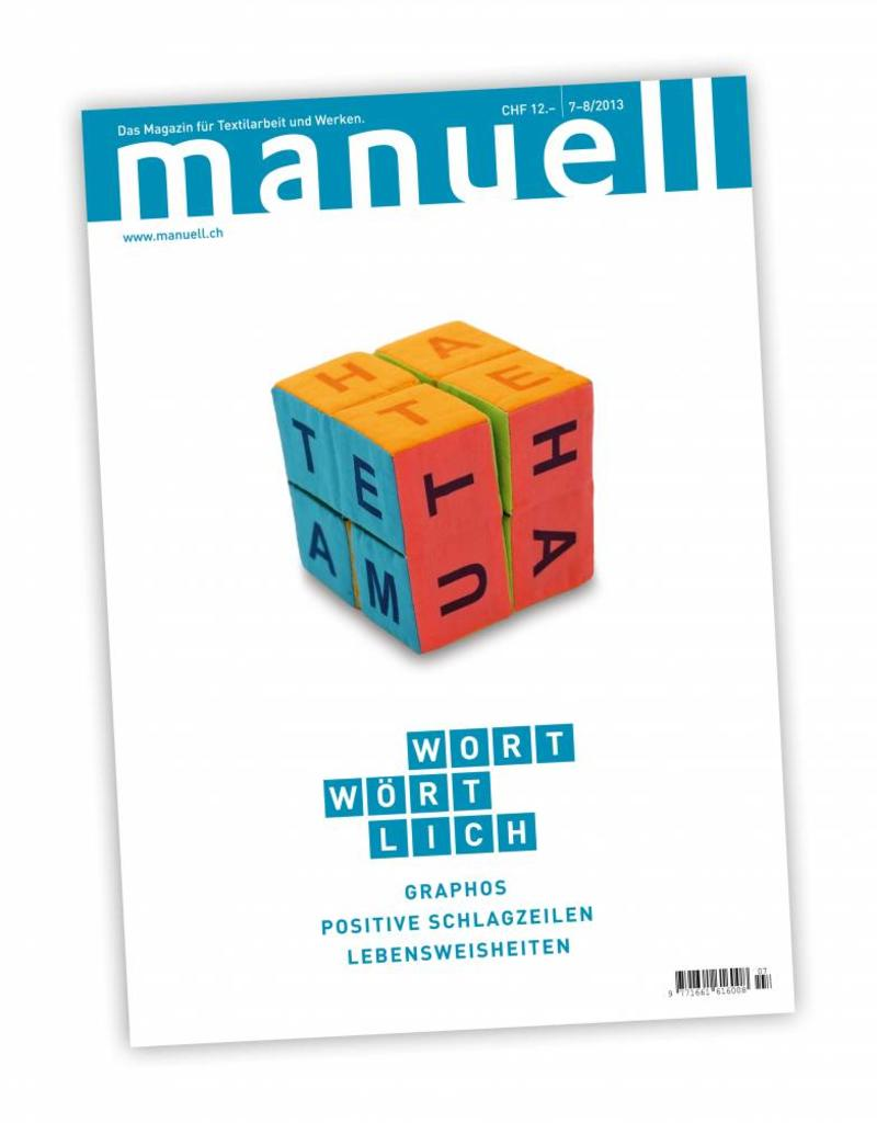 Magazin manuell Ausgabe Juli-August 2013