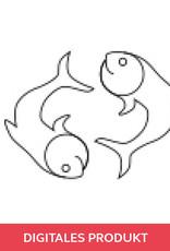 2019 Spannplan Fisch: Anleitung