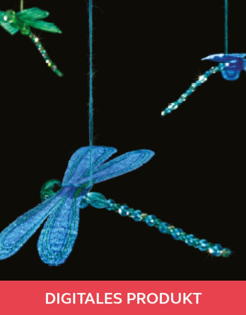 2019 Ausgabe 7-8 Funkelnde Libellen Anleitung