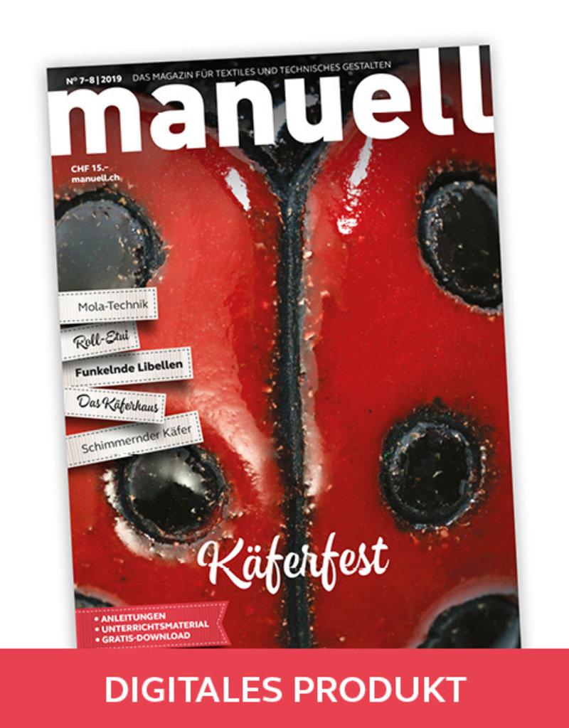 Magazin manuell Ausgabe Juli-August 2019 – als PDF