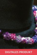 2019 Ausgabe 6 Perlen aus Luftmaschenschnüren Anleitung