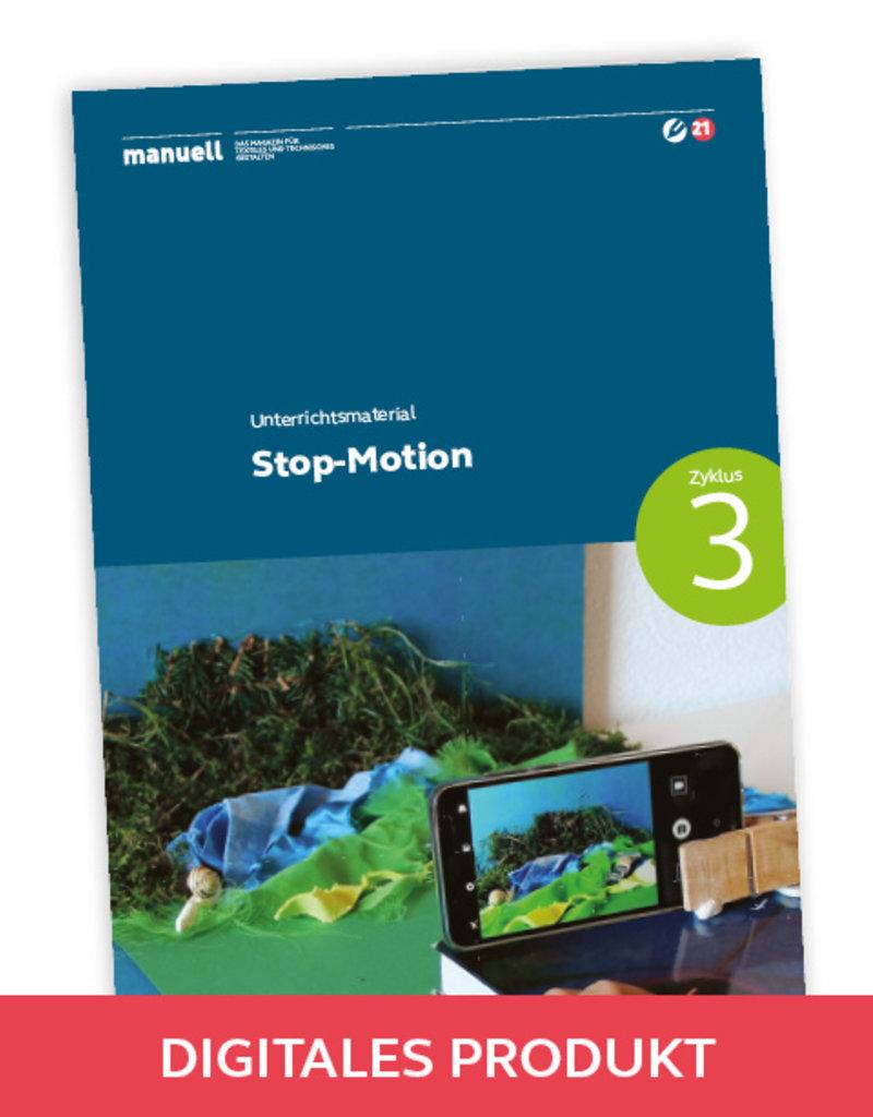 manuell Unterrichtsmaterial Stop-Motion / Zyklus 3/als digitales Produkt