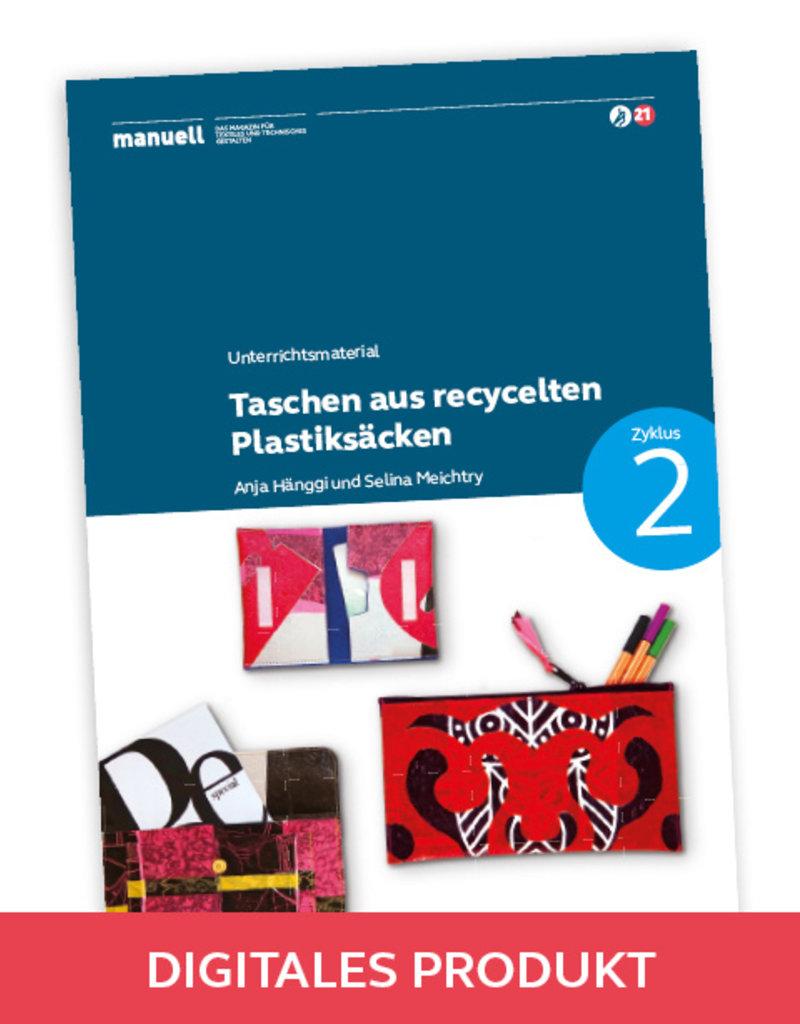 manuell Unterrichtsmaterial Taschen / Zyklus 2/als digitales Produkt