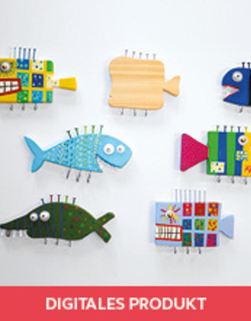 2020 Fisch-Schlüsselbrett