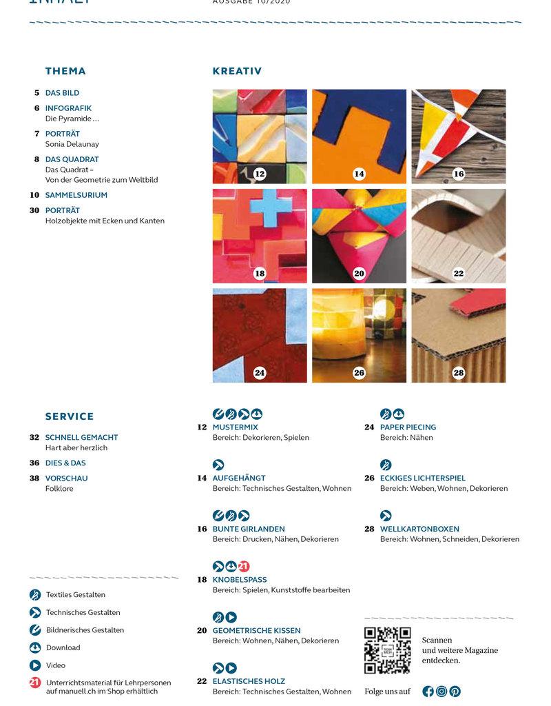 Magazin manuell Ausgabe Oktober 2020 – als PDF