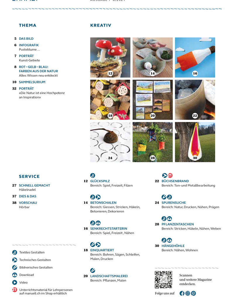 Magazin manuell Ausgabe Juli–August 2021