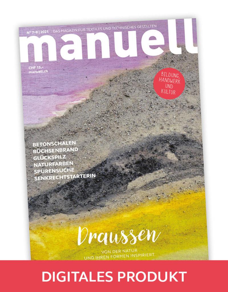 Magazin manuell Ausgabe Juli–August 2021 – als PDF