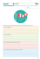 manuell Unterrichtsmaterial Senkrechtstarterin Zyklus 2/als digitales Produkt  - Copy