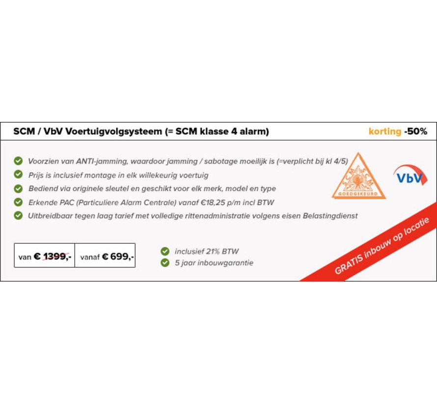 Voertuigvolgsysteem VbV SCM Volvo XC90 (Hybrid)