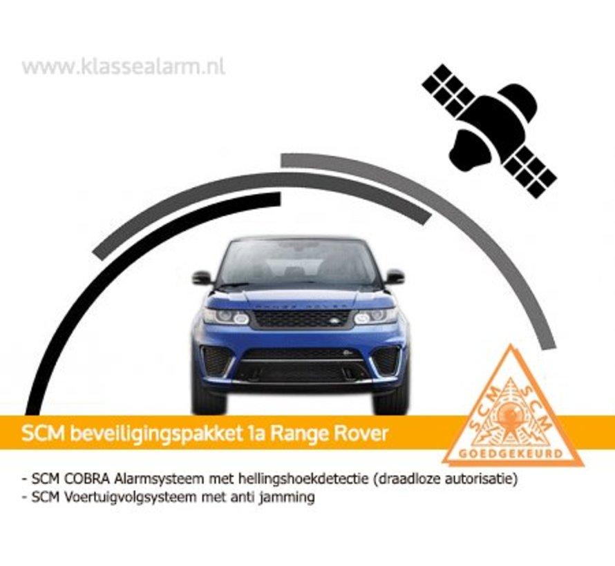 Autoalarm SCM Range Rover