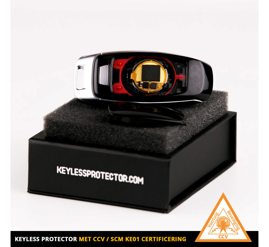 2x KE01 Keyless Protector sleutelset met SCM certificaat