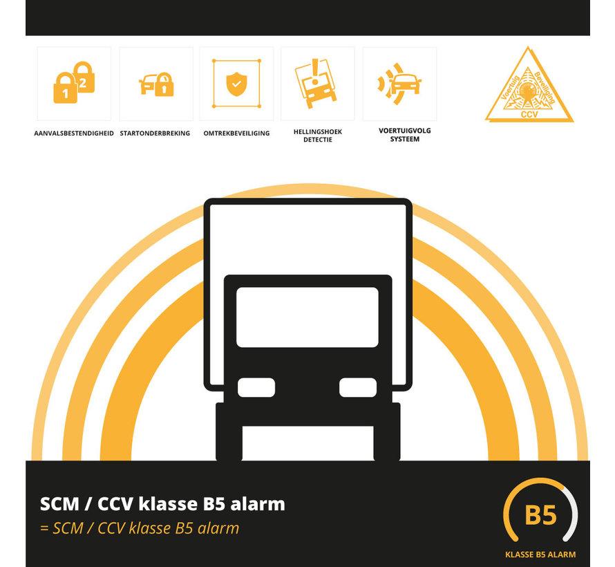 SCM/CCV klasse B5 Vrachtwagen beveiliging