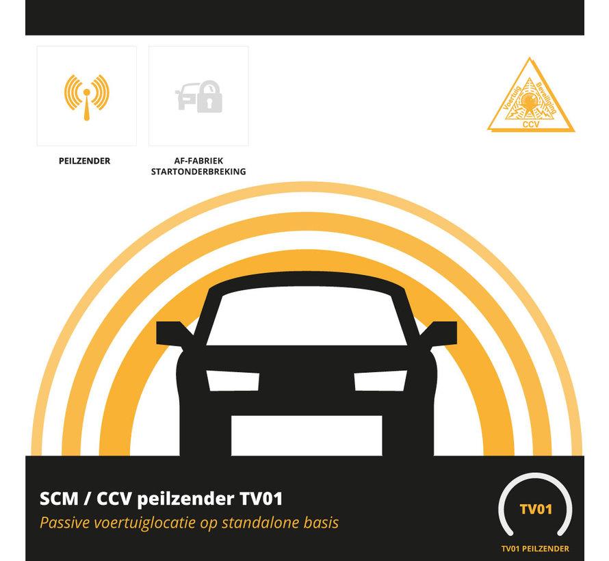 Terugvindsysteem SCM TV01 met SCM certificaat