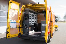 Meer bedrijfswagens gestolen in Nederland
