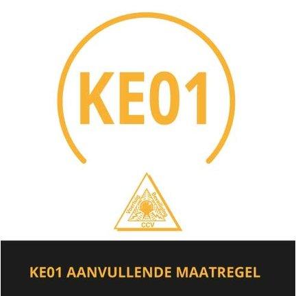 Aanvullende maatregel KE01 met CCV SCM certificaat