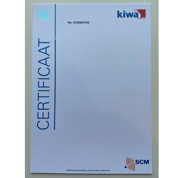 Certificering SCM alarmsysteem
