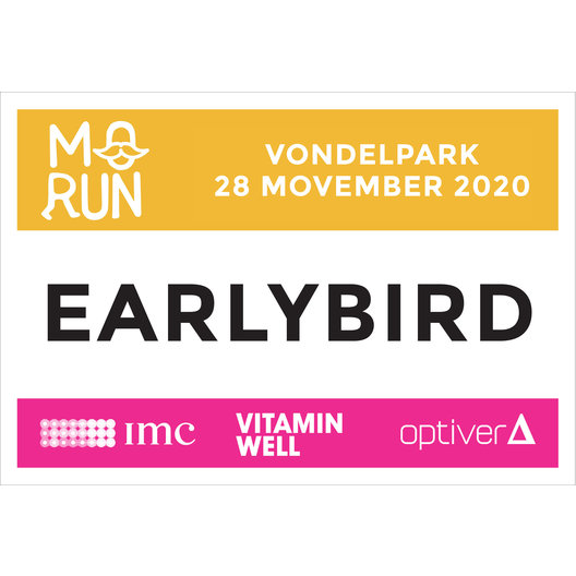 Registratie* Early Bird 2020