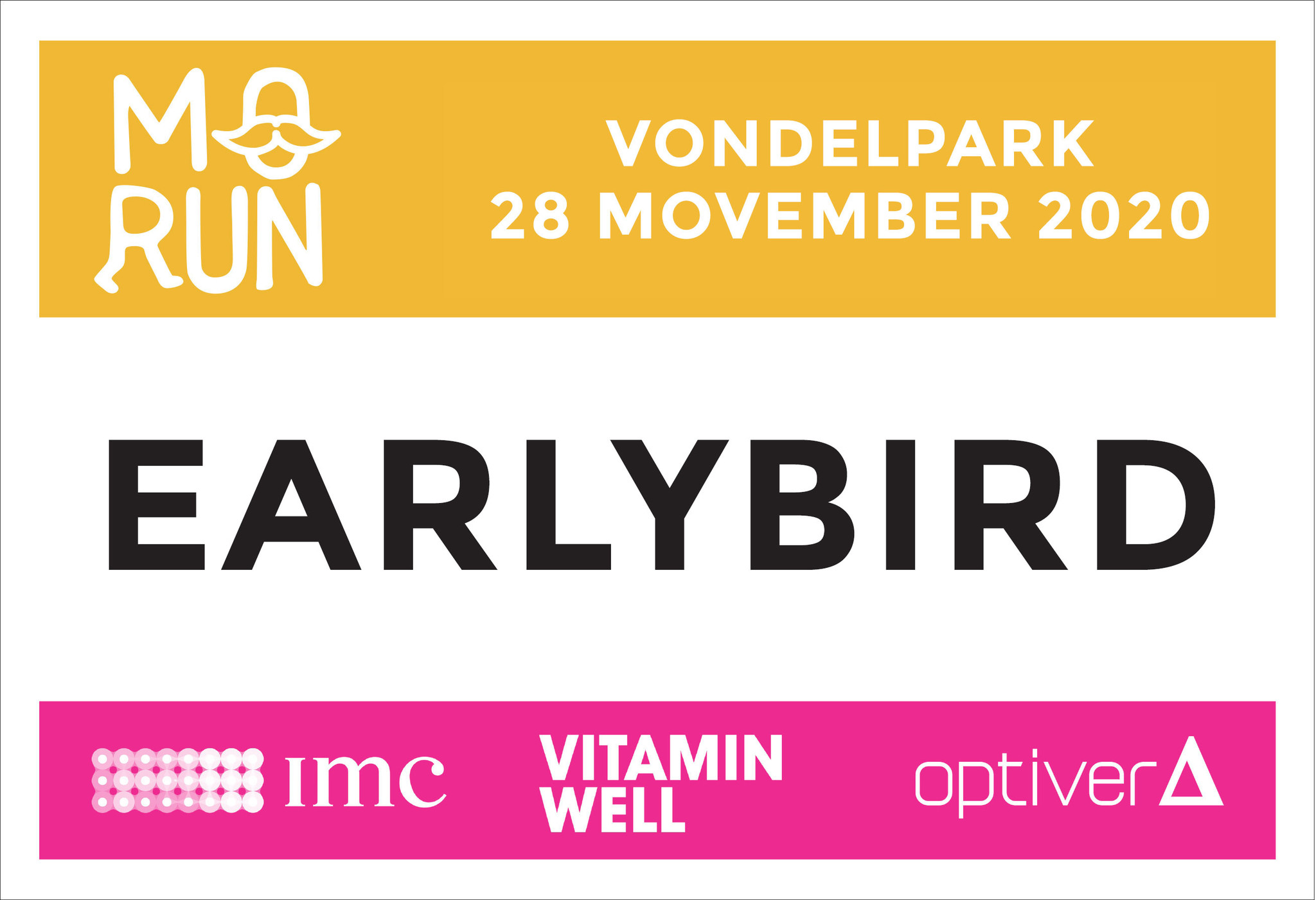 MoRun 2020  Registration* Early Bird (incl. 25% discount)
