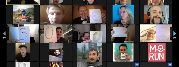 Final results Virtual Movember Run: record 30,000 euro donation