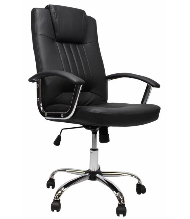 Moderne bureaustoel Employer zwart