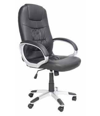 Dimehouse Comfortabele bureaustoel Manager zwart