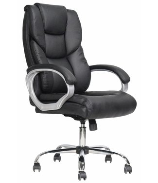 Design bureaustoel Dave zwart
